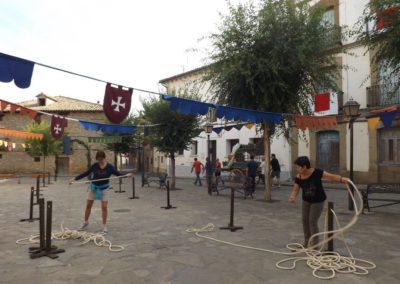 2016 Jornadas de recreación Histórica de la estancia del Santo Grial en Bailo