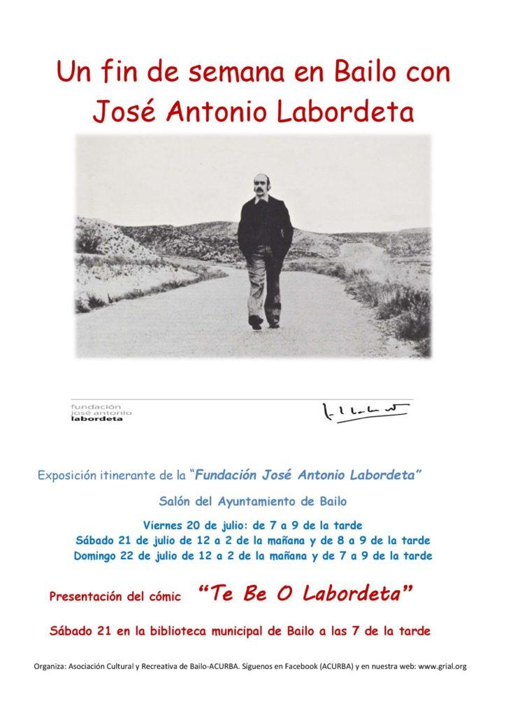 Un fin de semana en Bailo con José Antonio Labordeta
