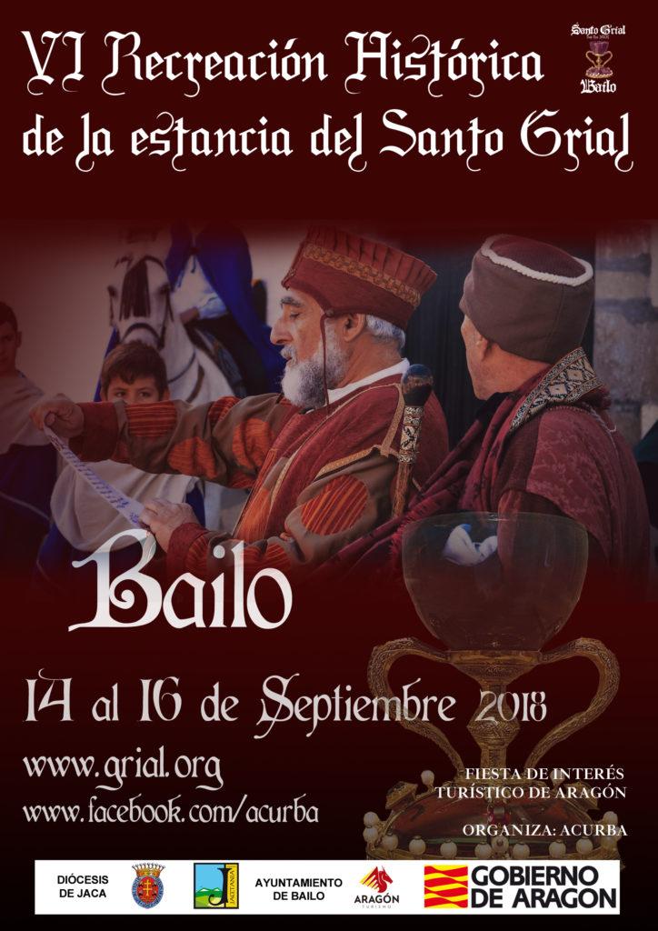 VI Recreación Histórica de la Estancia del Santo Grial en Bailo, del 14 al 16 de septiembre