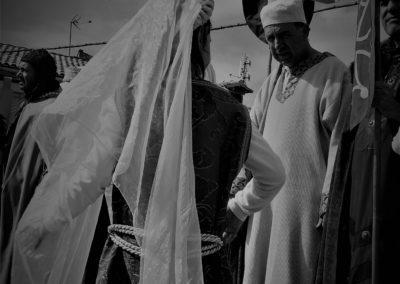 FOTO: MARIBEL NOGUEIRAS. JORNADAS DE RECREACIÓN HISTÓRICA DE LA ESTANCIA DEL SANTO GRIAL EN BAILO 2018