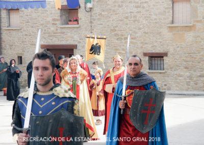 JORNADAS DE RECREACIÓN HISTÓRICA DE LA ESTANCIA DEL SANTO GRIAL EN BAILO 2018